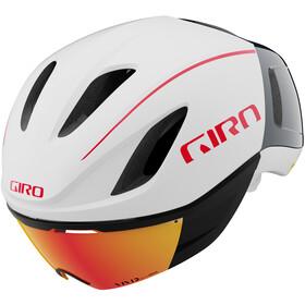 Giro Vanquish MIPS Casco, matte white/portaro grey/red